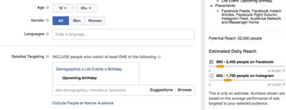 Facebook geburtstag 29 02